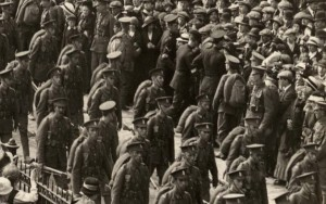 The Review of the 36th Ulster Division