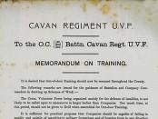 Cavan UVF Camp of Instruction