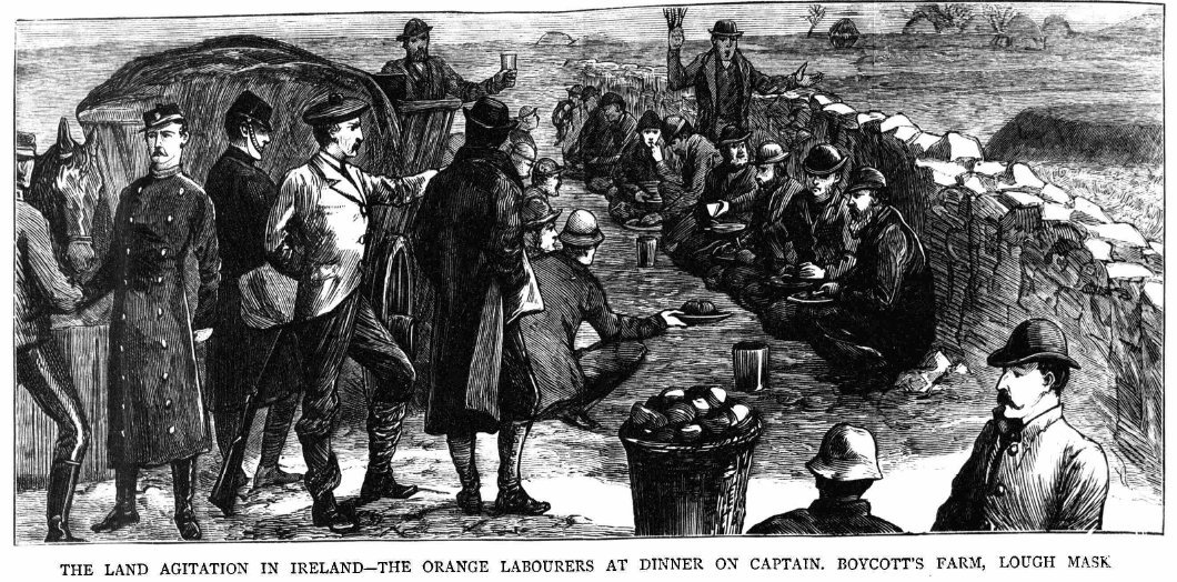 Orange Labourers in Lough Mask
