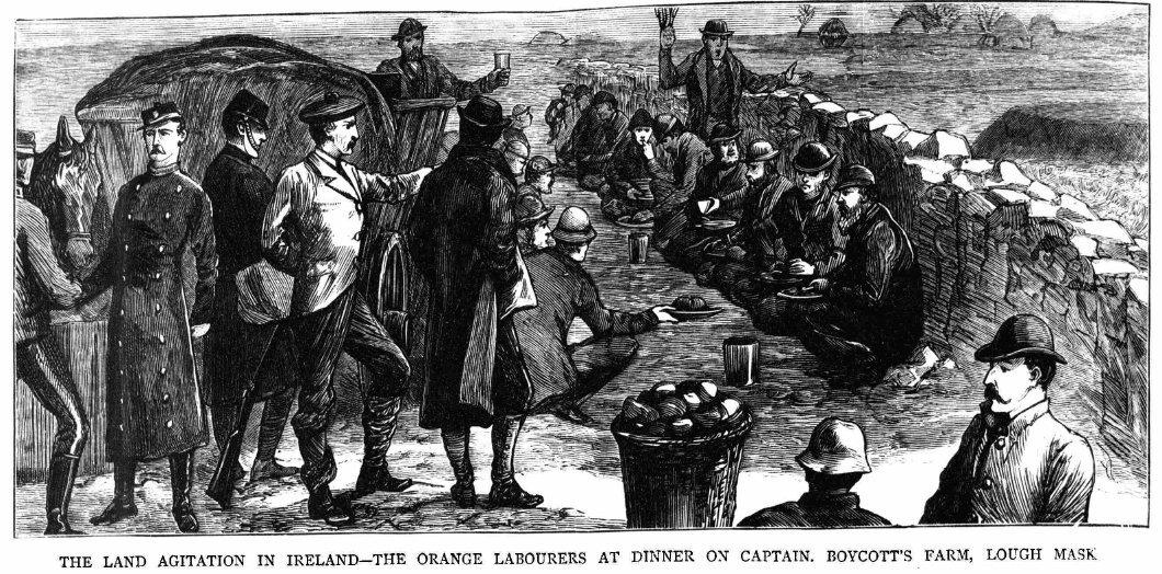 Orange Labourers in Lough Mask