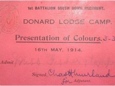 1st Batt Colour presentation invite 2