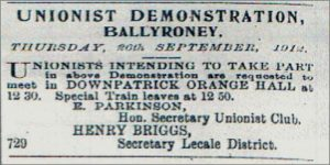 ballyroney demonstration